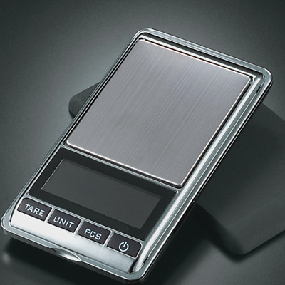 Digital Scale 0.01g - 500g Jewelry Gold Silver Coin Grain Gram Pocket Size Herb