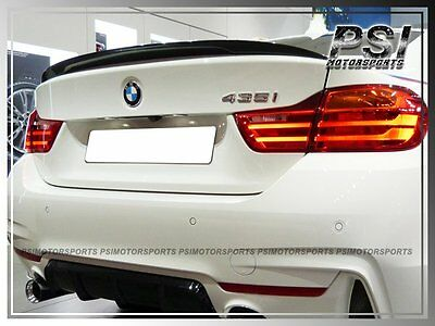 14-18 BMW F32 428i 435i Coupe Performance Type Trunk Spoiler - Choose Your Color