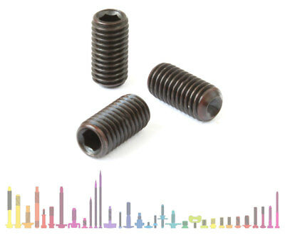 High Tensile Grub Screws Set Screws M2, M2.5, M3, M4, M5, M6, M8, M10