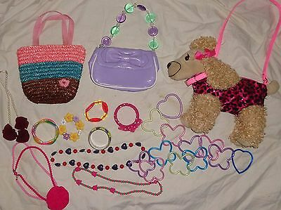 Gymboree Lot Bracelet Necklace Purse Daffodil Garden Holiday Traditions Tulip
