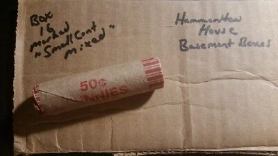 Unsearched Obw Rolls - Flying Eagle - Indian Head Cents - Wheat Pennies - Estate
