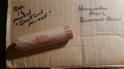 Unsearched Penny Rolls - Flying Eagle - Indian Head Cents - Wheat Pennies