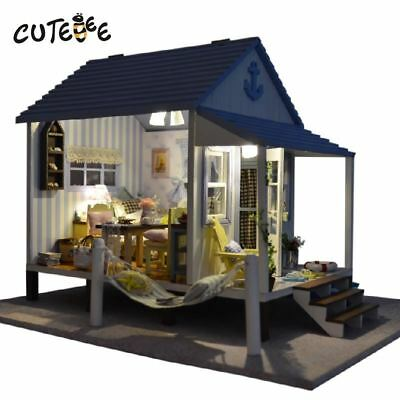 Doll house furniture miniature DIYdoll houses miniature dollhouse wooden