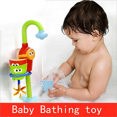 Baby Shower Bath Toys Shower Faucet Bathing Water Spraying Tool Toys Pop L9