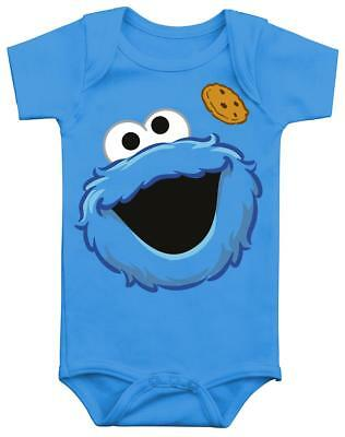 Sesame Street Cookie Monster Body bimbo/a blu