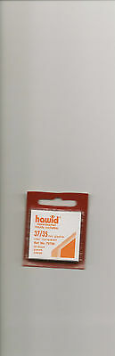 HAWID MOUNTS 35x35 mm CLEAR PACK OF 50