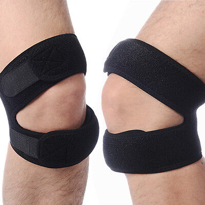 New Patella Tendon Brace Knee Pad Guard Protector Support Strap Belt Gym Sport