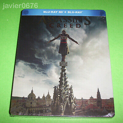 Assassins Creed Blu-Ray 3D + Blu-Ray Nuevo Y Precintado Edicion Steelbook