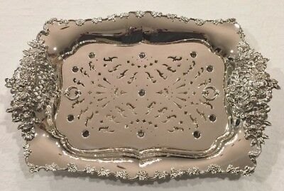 STERLING  TIFFANY ASPARAGUS TRAY WITH LINER circa 1902-1905 EXCELLENT CONDITION