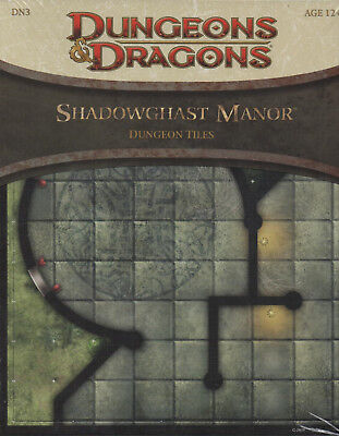 Dungeons & Dragons-D&D-Shadowghast Manor-Dungeon Tiles-RPG-Tabletop-new