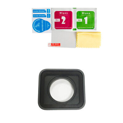 Camera Lens Replacement Kit +Tempered Glass Protective Film for GoPro Hero 5