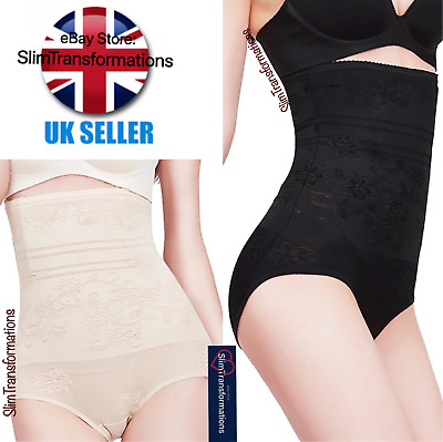 UK Ladies Women Plus Size Body Waist Belly Tummy Shaper Firm Control Underwear