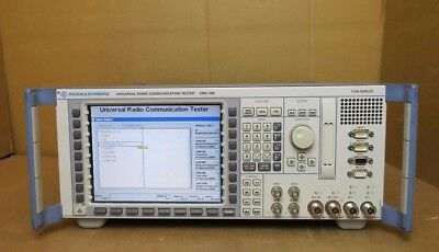 Rohde & Schwarz CMU 200 Universal Radio Communication Tester B11 B12 R&S