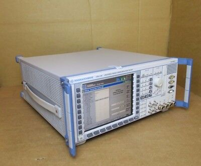 Rohde & Schwarz CMU 200 Universal Radio Communication Tester 1100.0008.02 R&S