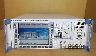 Rohde & Schwarz CMU 200 Universal Radio Communication Tester R&S + options