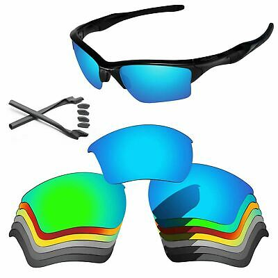 Rubber Kit + Polarized Replacement Lenses For-Oakley Half Jacket 2.0 XL -Options