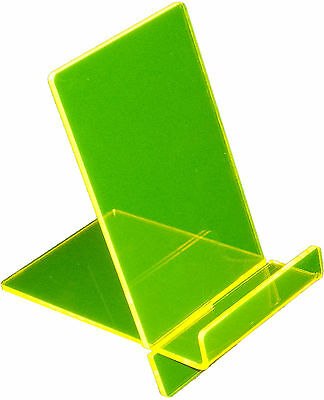 iPhone / Samsung / Sony Mobile Phone Holder with Lip Fluorescent Yellow