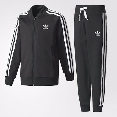 adidas SST Track Suit  kids Black/White BR7269 New Authentic!