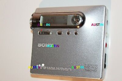 Sony Mz N10 Minidisc Player Net Md With Microphone