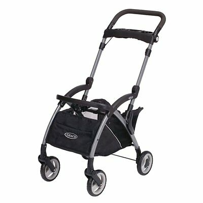 Graco Snugrider Elite Stroller & Car Seat Carrier Ultra-lightweight Black Fold
