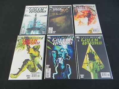 Green Arrow Year One #1-6 6 Issue Comic Set Lot Arrow Tv Show Stephen Amell