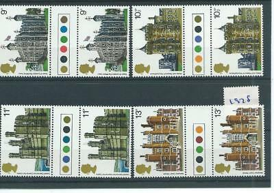 wbc. - GB - COMMEMS - 1978 - BUILDINGS - GUTTER PAIRS - T/LIGHT - UNM MINT SETS