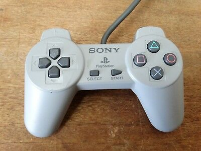 Sony PlayStation 1 Ps1 - OFFICIAL grey Controller SCPH1080