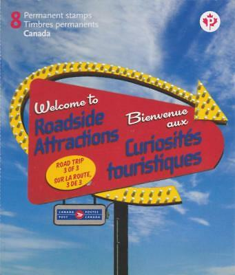 CANADA 2011 BK464 #2485 Roadside Attractions – 3 MNH
