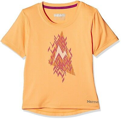 (X-Small, Orangesicle Heather) - Marmot Girl's Post Time Short Sleeves
