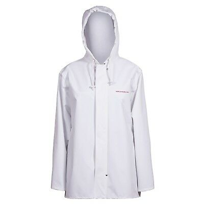 (Medium) - Grundens Womens Petrus 88 Waterproof Jacket, White. Best Price