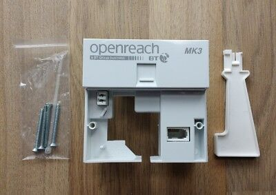 VDSL MK3 Filter Faceplate Latest Version Genuine BT OpenReach Branded New BNIB