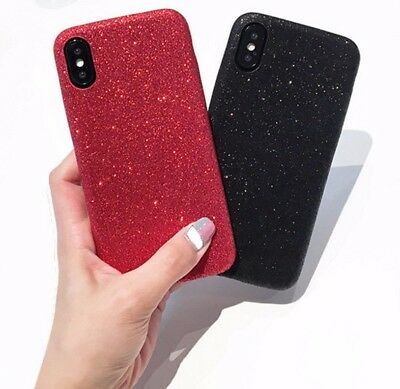 iPhone X XS Ultra Thin Luxury Bling Glitter Sparkle Soft Flexible Cover Case