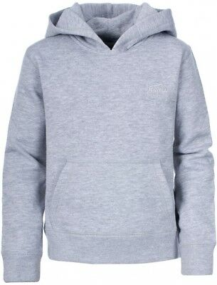 (Size 2/3, Grey Marl) - Trespass Boy's Whelan Hoody. Shipping is Free