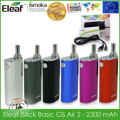 Cigarette electronique mod box clearomiseur Eleaf iStick Basic GS Air 2 full kit
