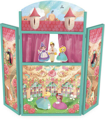 Princess Theatre by Vilac | French Kids Childrens Pretend Play Puppet NEW