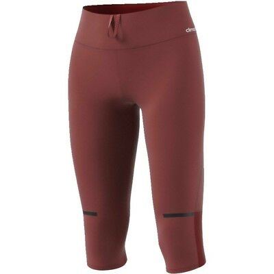 (Small, Red/Rojmis) - adidas Women's Chill 3/4 Tgt W Leggins. Delivery is Free