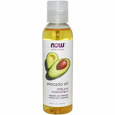 100% Pure Avocado Oil - Now Foods, 118ml, Body, Skin, Hydrating, Moisturising