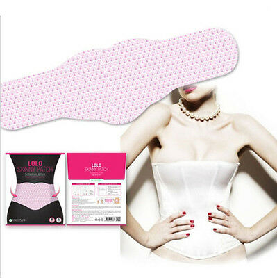 5pcs LOLO SKINNY PATCH Fat Belly Treatment Body Wraps Wrap Weight Loss Abdomen