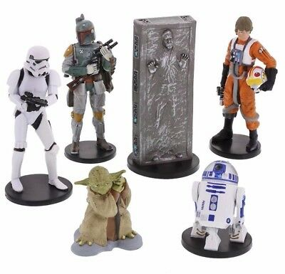 "DISNEY PARKS STAR WARS ""THE EMPIRE STRIKES BACK"" (Collectible Figures) NEW!"
