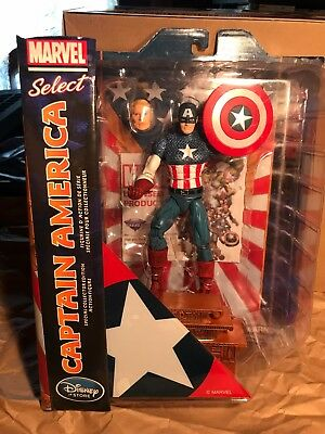 "MARVEL SELECT ""CAPTAIN AMERICA-Special Collectors Edition"" (Disney) NEW!"