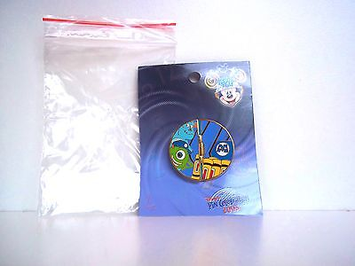 Disney Journey Through Time Pin Event 2003 Monsters Door Sully Mike Le 1000