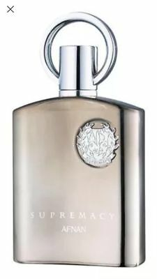 BNIB Supremacy Silver By Afnan Pour Homme EDP 100ml -1ST CLASS SIGNED- FREE GIFT