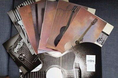 Rainsong Guitars catalog mid 1980s EXTREMELY RARE - Maui era original models