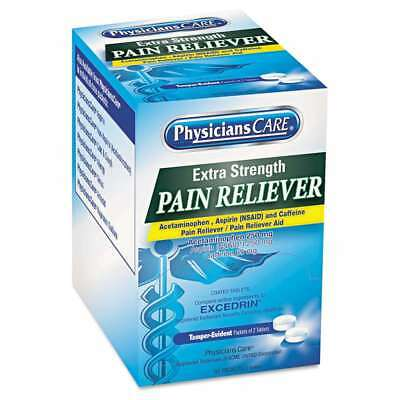 PhysiciansCare® Extra-Strength Pain Reliever, Two-Pack, 50 Packs/ 073577903166