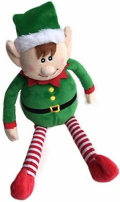 CHRISTMAS ELF PLUSH Holiday Decor - Cute Xmas Toy For Kids And The Whole Family