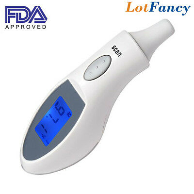 Digital Medical Flu Infrared Ear Thermometer Monitor Fever Body Temperature Kids