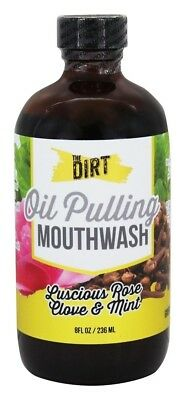 All Natural MCT Coconut Pulling Oil and Mouthwash for Healthier Gums and Teeth