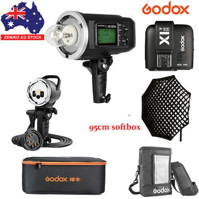 AU Godox AD600BM 600W HSS Flash+AD-H600B+95cm Grid Softbox+X1T-N For Nikon Kit