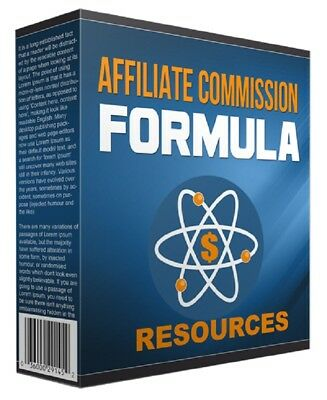 Affiliate Commission Formula Generate More Commission with Affiliate marketing