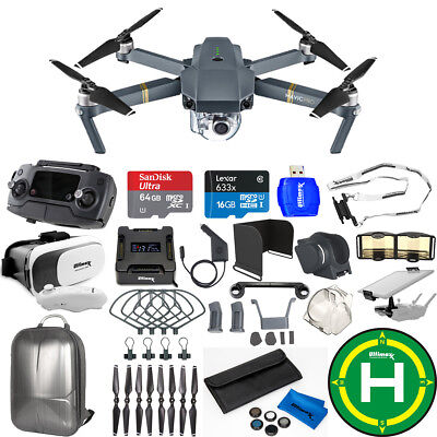 DJI Mavic Pro With 12MP / 4K Camera Kit! W/ Backpack, Drone Vest + MUCH MORE!